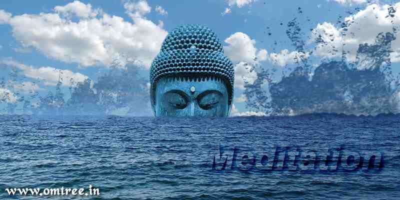 Budhha Meditation in Sea